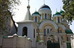 Church of Orthodox Monastery Royalty Free Stock Photo