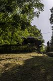 Church. Orthodox church surrounded by trees Stock Photography