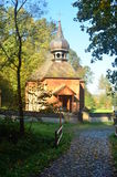 Church. Orthodox church surrounded by trees Royalty Free Stock Photos