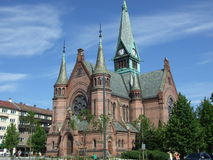 Church in Oslo. Picture of an ancient Church in Oslo, Norway stock images