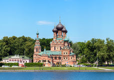 The Church in Ostankino in Moscow of Russia Stock Photos