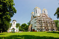 Church in Ostroh Castle Royalty Free Stock Photography