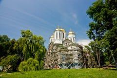 Church in Ostroh Castle, Rivne Royalty Free Stock Photo