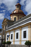 Church in Otavalo Royalty Free Stock Image