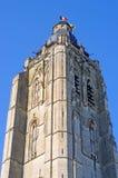 Church in Oudenaarde, belgium Royalty Free Stock Images