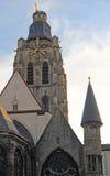 Church in Oudenaarde, Belgium Stock Images