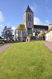 Church of Ouistreham in France Royalty Free Stock Photos