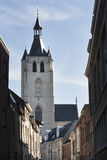 The Church of Our Lady across the (River) Dijle in Mechelen Royalty Free Stock Photo