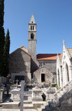 Church of Our Lady of the Angels. The Church of Our Lady of the Angels in Orebic, Croatia Stock Image