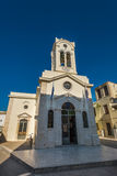 Church of Our Lady of Angels Rethymno Royalty Free Stock Photos