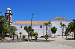 Church of Our Lady of Antigua in Fuerteventura. A view of Church of Our Lady of Antigua in Fuerteventura, Canary Islands, Spain stock photography