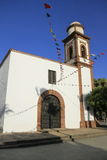 Church of Our Lady of Antigua in Fuerteventura Stock Photo