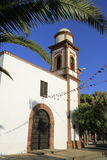 Church of Our Lady of Antigua in Fuerteventura Royalty Free Stock Photo