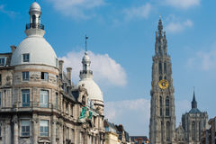 Church Our Lady Antwerp Buildings Royalty Free Stock Images