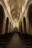 Church of Our Lady Antwerp Interior Royalty Free Stock Images