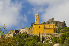 Church Our Lady of Assumption, Eze, France Royalty Free Stock Photography
