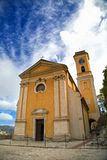 Church Our Lady of Assumption, Eze, France Stock Images