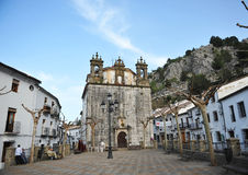 Church of Our Lady of Aurora, Grazalema, White Towns, Cadiz province, Spain Stock Image