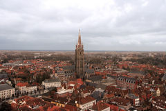 Church of Our Lady in Bruges Stock Photo