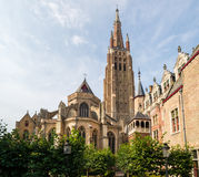 The Church of Our Lady in Bruges Royalty Free Stock Images