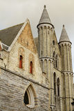 Church Of Our Lady Bruges Belgium. Side Shot Royalty Free Stock Photos