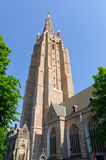 The Church of Our Lady in Bruges, Belgium Stock Photo