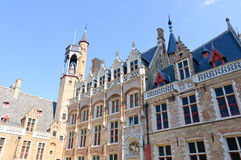 The Church of Our Lady in Bruges, Belgium Royalty Free Stock Photos