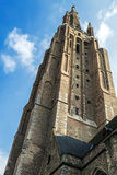 Church of Our Lady Bruges, Belgium Stock Image