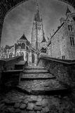 Church of Our Lady Bruges Belgium Royalty Free Stock Photos