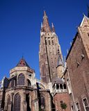 Church of Our Lady, Bruges, Belgium. Royalty Free Stock Photography