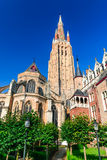 Church of Our Lady, Bruges, Belgium Stock Photo