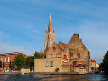 Church of Our Lady in Bruges Stock Image