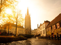 Church of Our Lady in Bruges Royalty Free Stock Photos