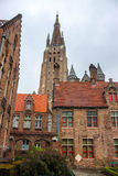 Church of Our Lady in Bruges Royalty Free Stock Images