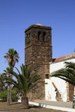 Church of Our Lady of Candelaria in La Oliva, Fuerteventura Royalty Free Stock Photo