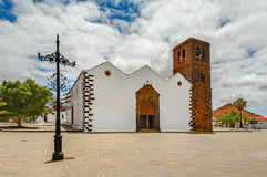Church of Our Lady of Candelaria in La Oliva Stock Photography