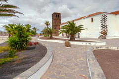 Church of Our Lady of Candelaria in La Oliva, Fuerteventura, Canary Islands, Spain Stock Photography
