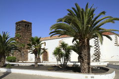 Church of Our Lady of Candelaria in La Oliva, Fuerteventura Royalty Free Stock Images