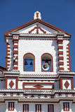 Church of Our Lady of Carmen, in city centre Guatape. Stock Photos