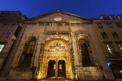 Church of Our Lady of the Conception in Lisbon Royalty Free Stock Photography