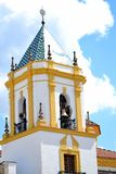 Church Our Lady Del Socorro in Ronda, Spain Royalty Free Stock Photos