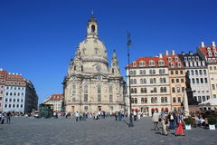 Church Of Our Lady, Dresden Stock Photography