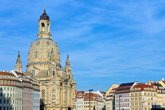 Church of Our Lady in Dresden Stock Image