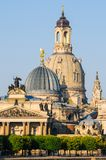 Church of our lady in Dresden Stock Photography