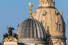 Church of our lady in Dresden Royalty Free Stock Photography