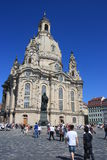 Church Of Our Lady, Dresden, Germany Royalty Free Stock Image