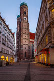 Church of Our Lady (Frauenkirche) in Munich Royalty Free Stock Photography