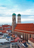 The Church of Our Lady (Frauenkirche) in Munich. Stock Image