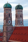 The Church of Our Lady (Frauenkirche) in Munich. Stock Images