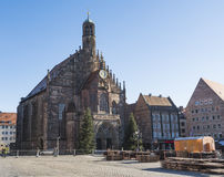 Church of Our Lady Frauenkirche, Nuremberg, Germany Royalty Free Stock Photos